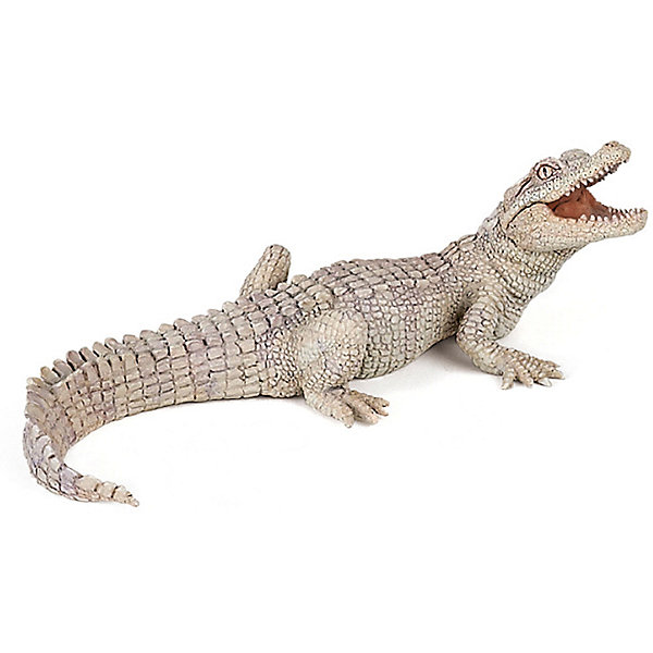 Купить Игровая фигурка PaPo Белый крокодильчик, Китай, Унисекс