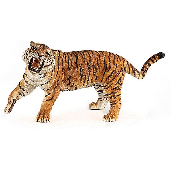 Купить Игровая фигурка PaPo Рычащий тигр, Китай, Унисекс