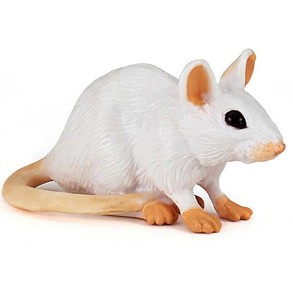 Купить Игровая фигурка PaPo Белая мышь, Китай, Унисекс