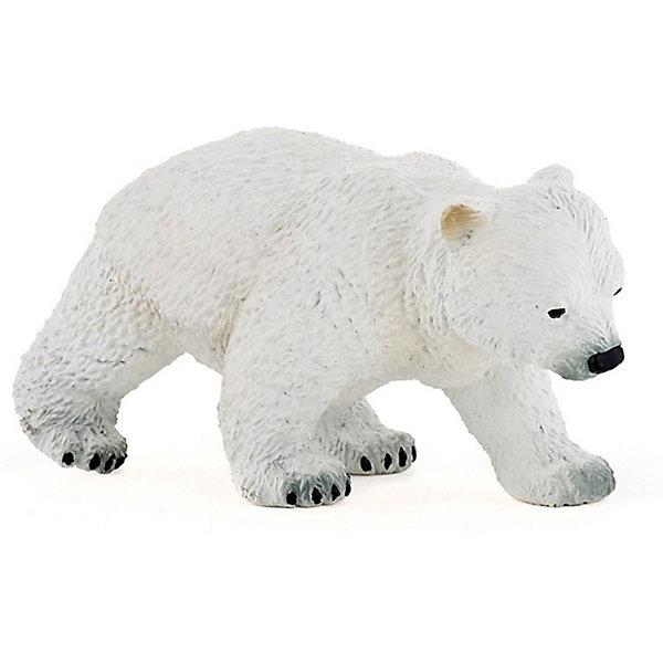 Купить Игровая фигурка PaPo Идущий полярный медвежонок, Китай, Унисекс