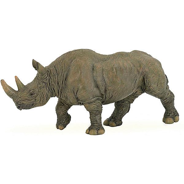 Купить Игровая фигурка PaPo Чёрный носорог, Китай, Унисекс