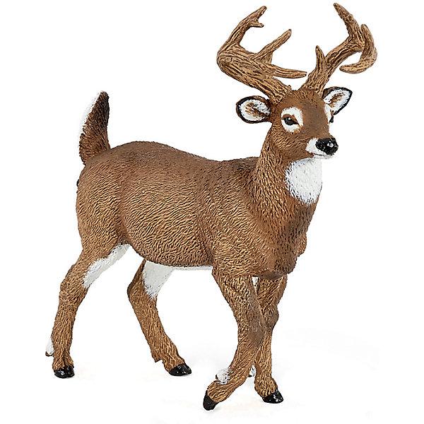 Купить Игровая фигурка PaPo Белохвостый олень, Китай, Унисекс