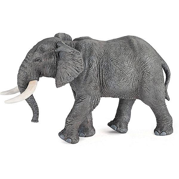 papo Игровая фигурка PaPo Африканский слон papo фигурка papo дилофазаурус