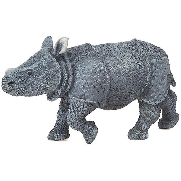 papo Игровая фигурка PaPo Детёныш индийского носорога papo фигурка papo дилофазаурус