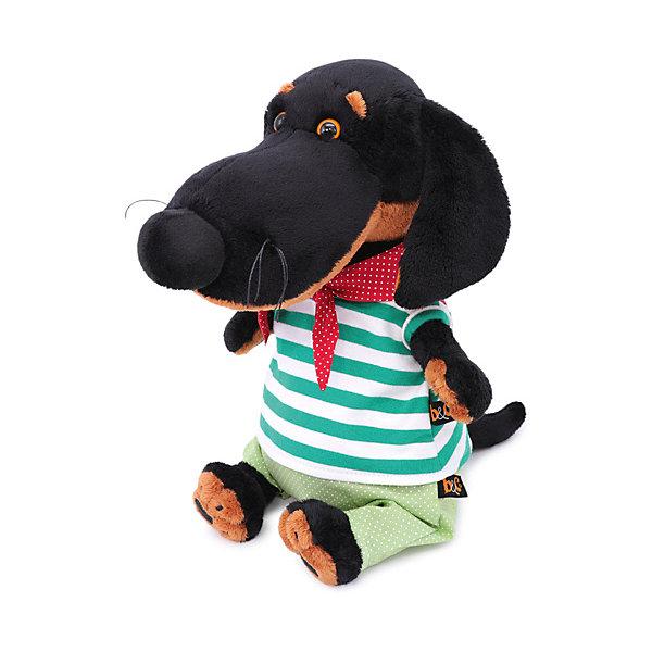 Budi Basa Мягкая игрушка Budi Basa Собака Ваксон в морском костюме, 25 см мягкая игрушка jack lin зайчик жак в морском костюмчике искусственный мех бежевый 25 см