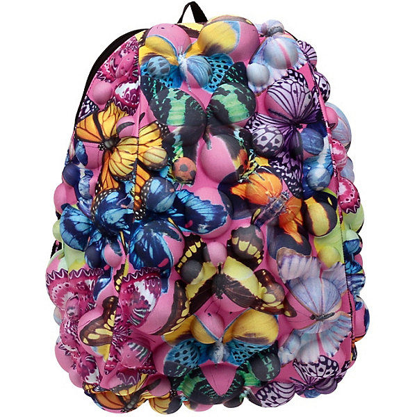 MadPax Рюкзак MadPax Bubble Half Butterfly, 36х30х15 см madpax bubble half packs school or fun backpack black magic