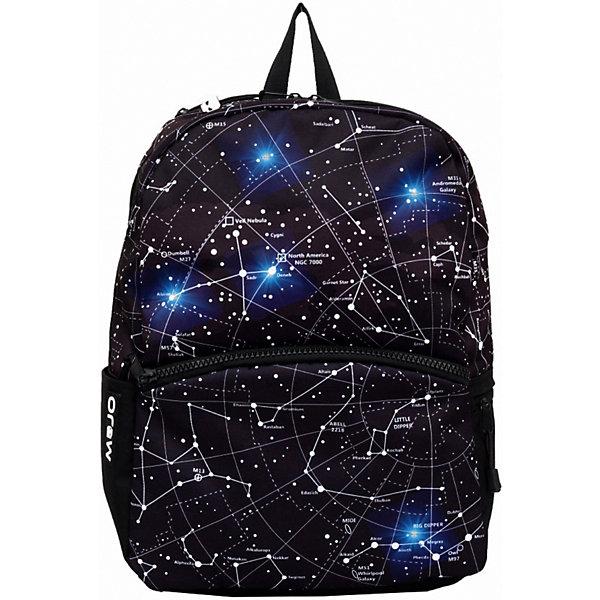 Mojo Pax Рюкзак Mojo Pax B/W Constellation LED, со встроенными светодиодами mojo pax mojo pax рюкзак boombox с колонками черный белый