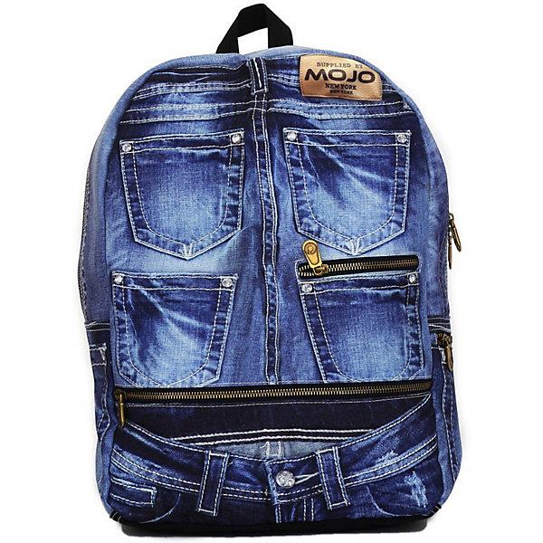 Mojo Pax Рюкзак Mojo Pax Denim Jeans BP, с пеналом школьные рюкзаки mojo pax рюкзак tiger