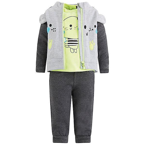 Комплект Tuc-Tuc: толстовка, футболка и брюки TUC TUC 12354665