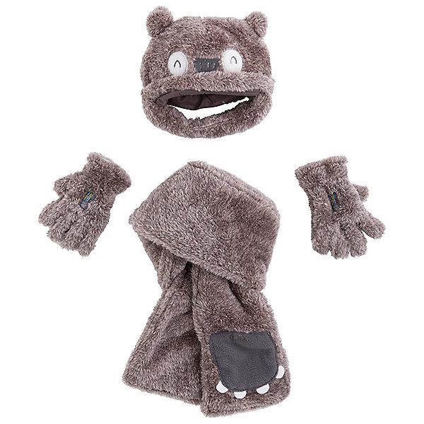 Комплект Tuc-Tuc: шапка, шарф и перчатки фото