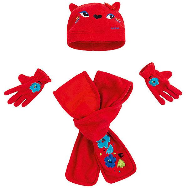 цена Tuc Tuc Комплект Tuc-Tuc: шапка, шарф и перчатки онлайн в 2017 году