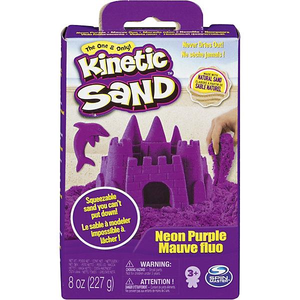 Kinetic sand Игровой набор Kinetic Sand Кинетический песок, фиолетовый kinetic sand 71417 const кинетик сэнд игровой набор c формочками 285 г