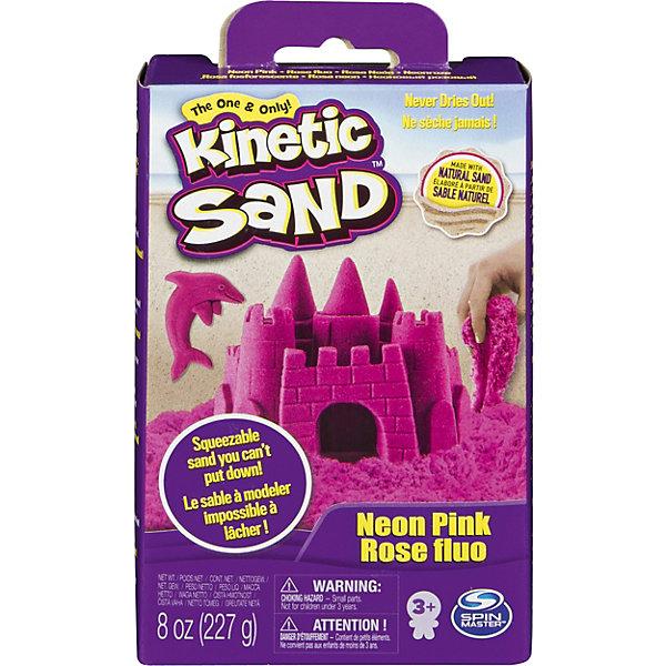 Kinetic sand Игровой набор Sand Кинетический песок, розовый