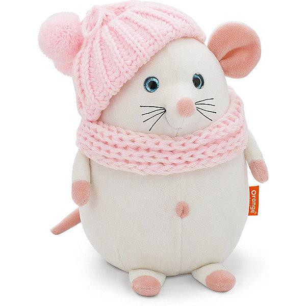 Orange Мягкая игрушка Toys Мышка Дуся, 20 см