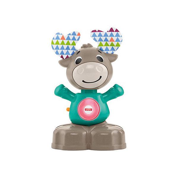 Mattel Игрушка интерактивная Fisher-price Музыкальный Лось