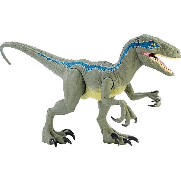 Mattel Фигурка Jurassic World Колоссальный велоцираптор Блю jurassic world фигурка мини динозавр