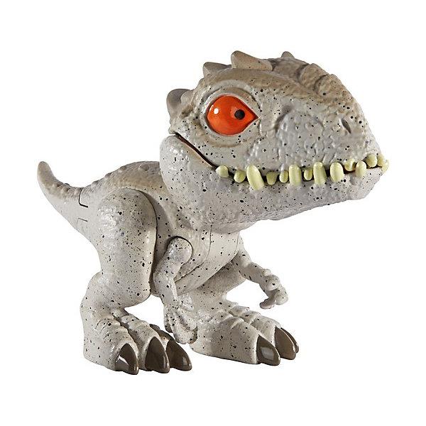 Купить Фигурка Jurassic World Цепляющийся мини-динозаврик Индоминус Рекс, Mattel, Китай, разноцветный, Мужской
