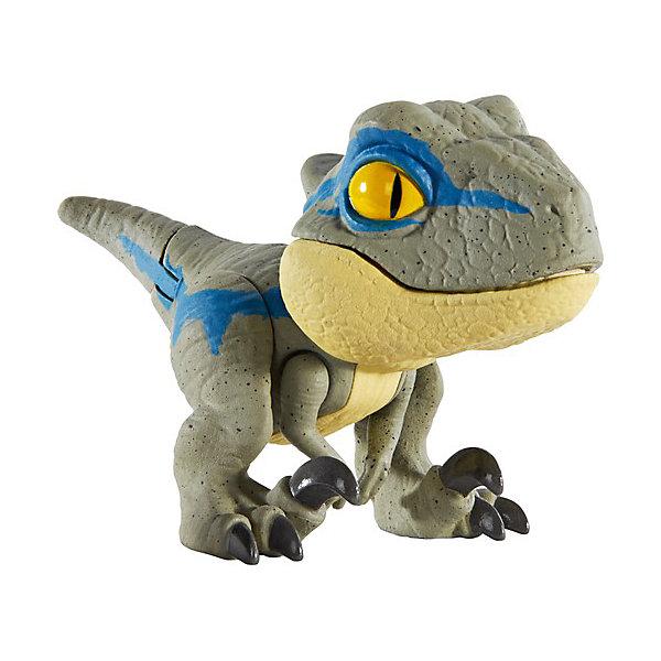 Купить Фигурка Jurassic World Цепляющийся мини-динозаврик Велоцираптор Блю, Mattel, Китай, разноцветный, Мужской