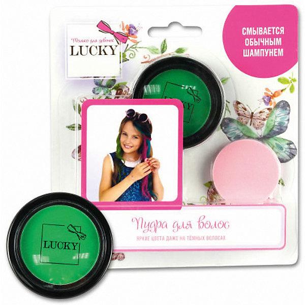 Пудра для волос Lucky, зеленый Lukky 12377581