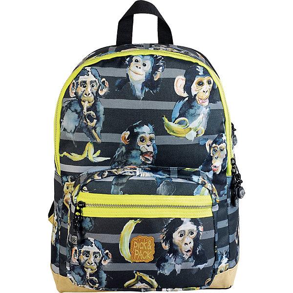 Pick&Pack Рюкзак Pick&Pack, чёрный рюкзак the original product life u pick mini