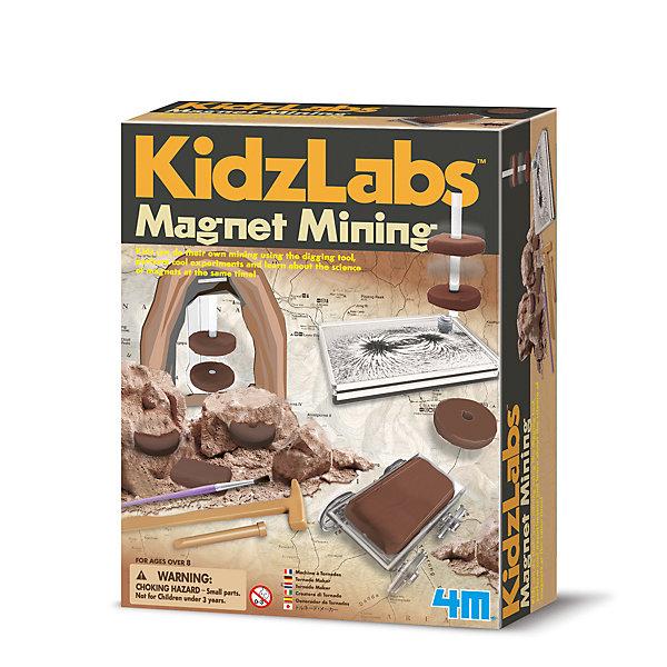 4M Набор для раскопок KidzLabs Магнитный рудник