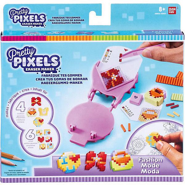 BANDAI Набор для создания ластиков Pretty Pixels Eraser Maker Любимые увлечения