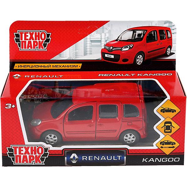 Купить Машина Технопарк Renault Kangoo, красный, ТЕХНОПАРК, Китай, разноцветный, Мужской