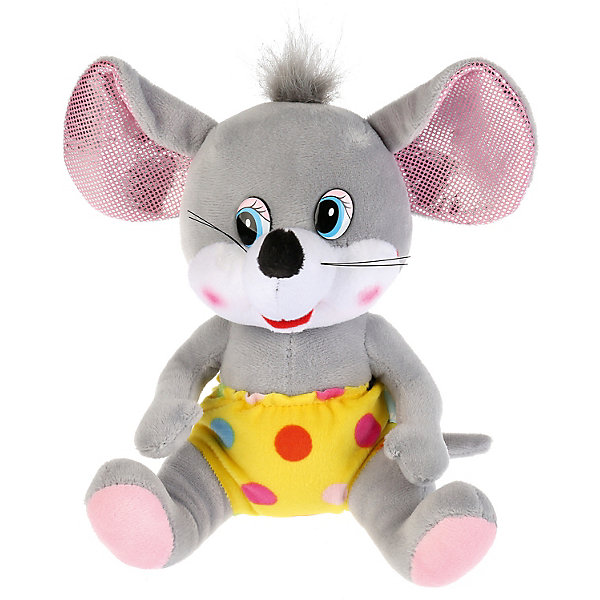 Мульти-Пульти Игрушка мягкая Мульти-пульти Мышь в желтых штанишках