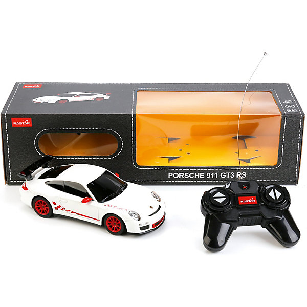 Rastar Машина радиоуправляемая Rastar Porsche GT3 RS, световые эффекты цена 2017