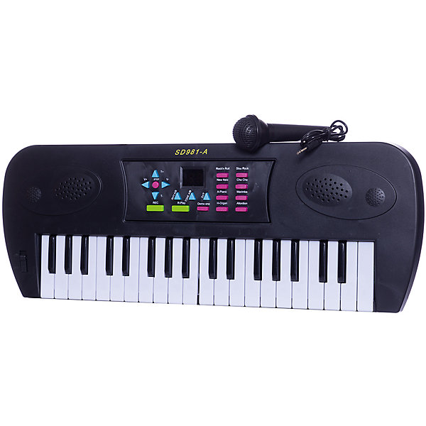 Электросинтезатор Abtoys, с дисплеем, 37 клавиш