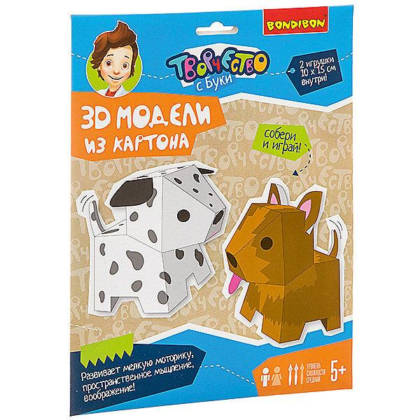 Bondibon Набор для творчества 3D модели: собачки, 2 шт