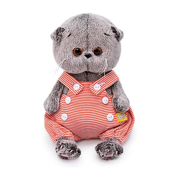 Купить Мягкая игрушка Budi Basa Кот Басик BABY в песочнике, 20 см, Россия, коричневый, Унисекс