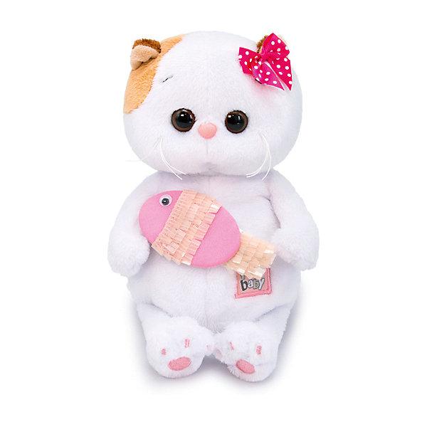 Мягкая игрушка Budi Basa Кошечка Ли-Ли BABY с рыбкой, 20 см 12408944