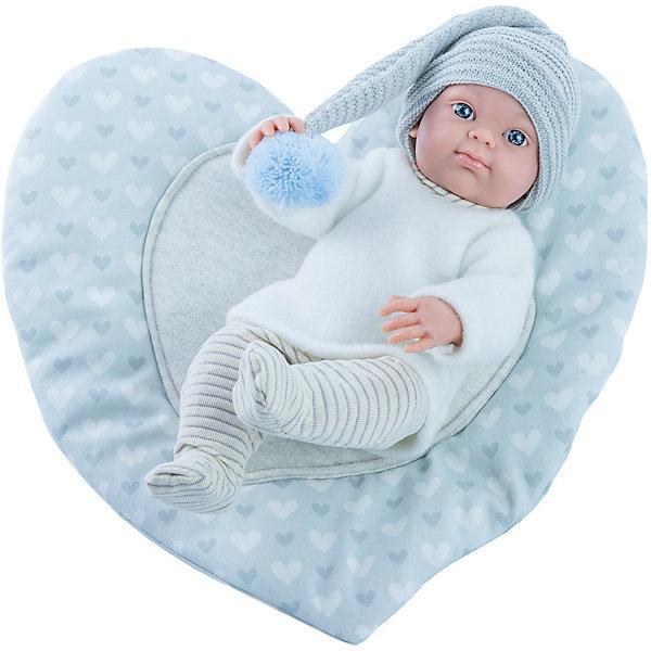 Купить Кукла Paola Reina Бэби с ковриком-сердце, 32 см, Испания, разноцветный, Женский