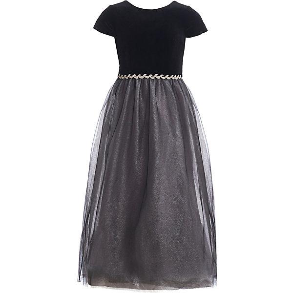 Нарядное платье Gulliver черного цвета