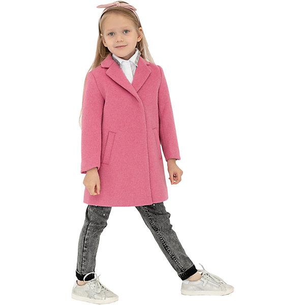 Купить Пальто Gulliver, Китай, розовый, 110, 98, 104, 128, 116, 122, Женский