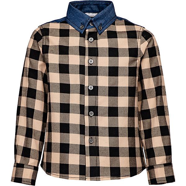 Рубашка Gulliver разноцветного цвета
