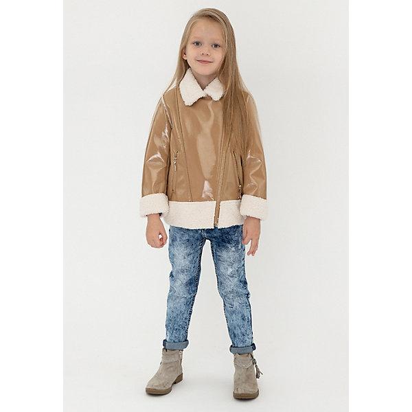 Gulliver Кожаная куртка Gulliver двуцетная кожаная куртка косуха на молнии