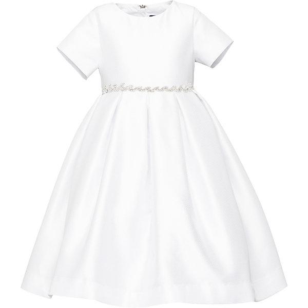 Купить Нарядное платье Gulliver, Китай, белый, 122, 98, 104, 110, 128, 116, Женский