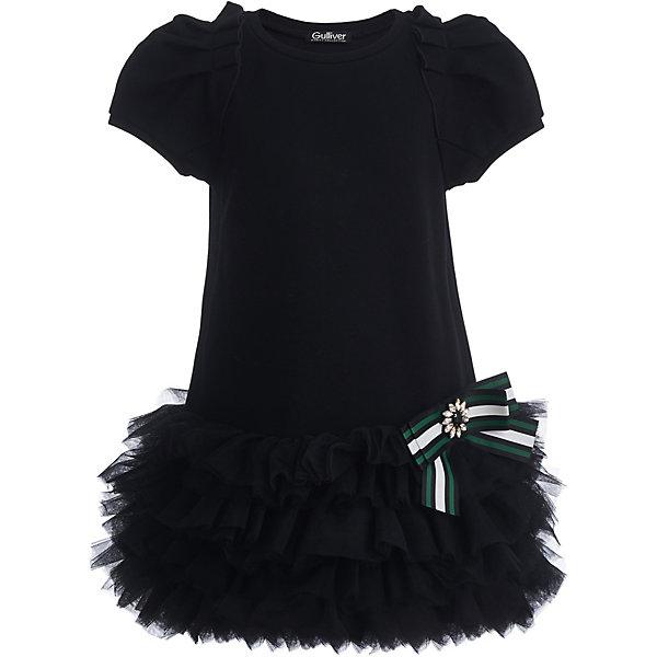 Купить Нарядное платье Gulliver, Китай, черный, 110, 98, 116, 104, 128, 122, Женский