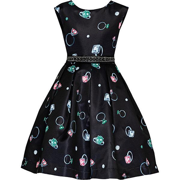 Купить Нарядное платье Gulliver, Китай, белый, 128, 110, 104, 116, 122, 98, Женский