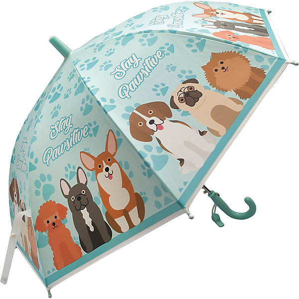 Наша Игрушка Зонт детский Mary Poppins Щенки, 48 см, полуавтомат зонт детский щенки