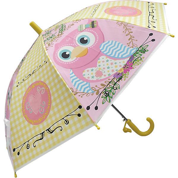 Купить Зонт детский Mary Poppins Сова , 48 см, полуавтомат, Наша Игрушка, Китай, Женский