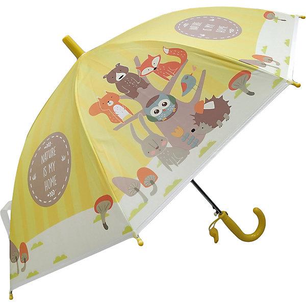 Купить Зонт детский Mary Poppins Лесная семейка , 48 см, полуавтомат, Наша Игрушка, Китай, Мужской