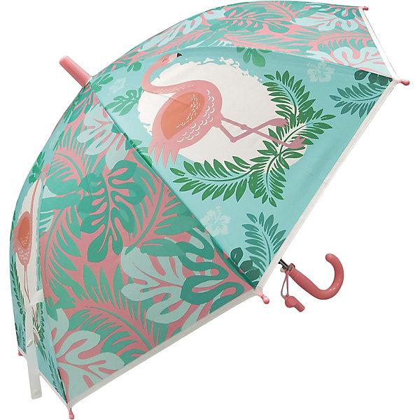 Купить Зонт детский Mary Poppins Фламинго , 48 см, полуавтомат, Наша Игрушка, Китай, Женский