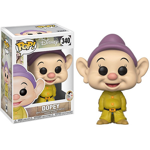 Funko Фигурка Funko POP! Vinyl: Disney: Белоснежка Простачок, 21718 фигурка funko pop vinyl horror the witch black philip 32306