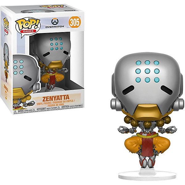 Funko Фигурка Funko POP! Vinyl: Overwatch Дзенъятта, 29052 фигурка funko pop vinyl horror the witch black philip 32306