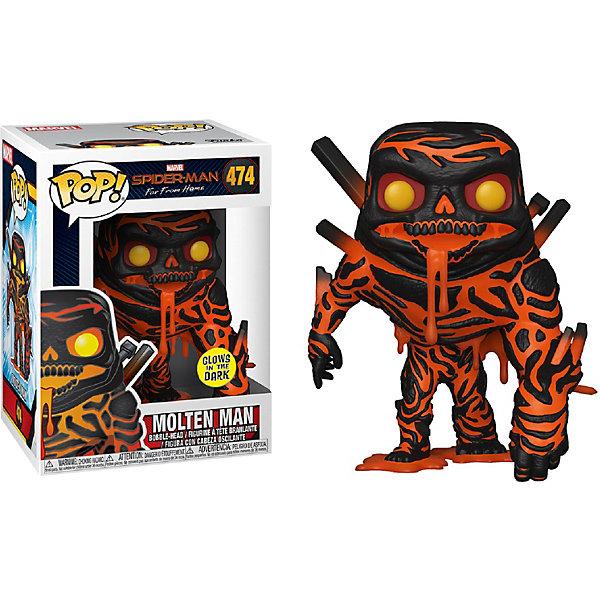 """Funko Фигурка Funko POP! Bobble: Marvel """"Человек-паук: Вдали от дома"""" Расплавленный Человек, 39210"""