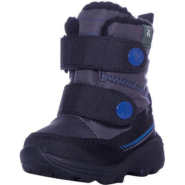 Купить Утепленные ботинки Kamik Pep, Китай, черный, 25, 28, 36, 32, 35, 22, 23, 26, 27, 24, 34, 30, 33, 31, 29, Мужской