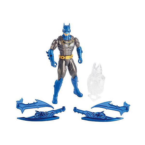 Mattel Игровая фигурка DC Super Heroes Batman Супер-Бэтмен 30 см, свет и звук